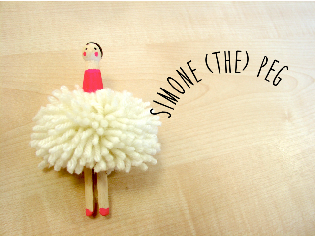 DIY Simone (the) Peg